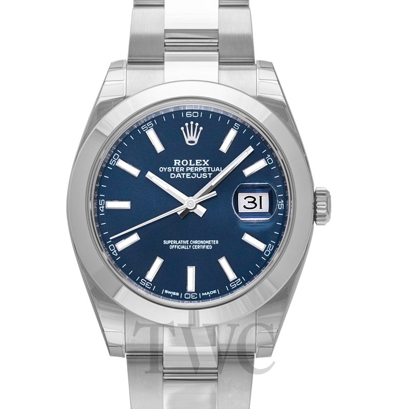 online store f67bb 974bb Datejust 41 Blue/Steel 41mm Oyster