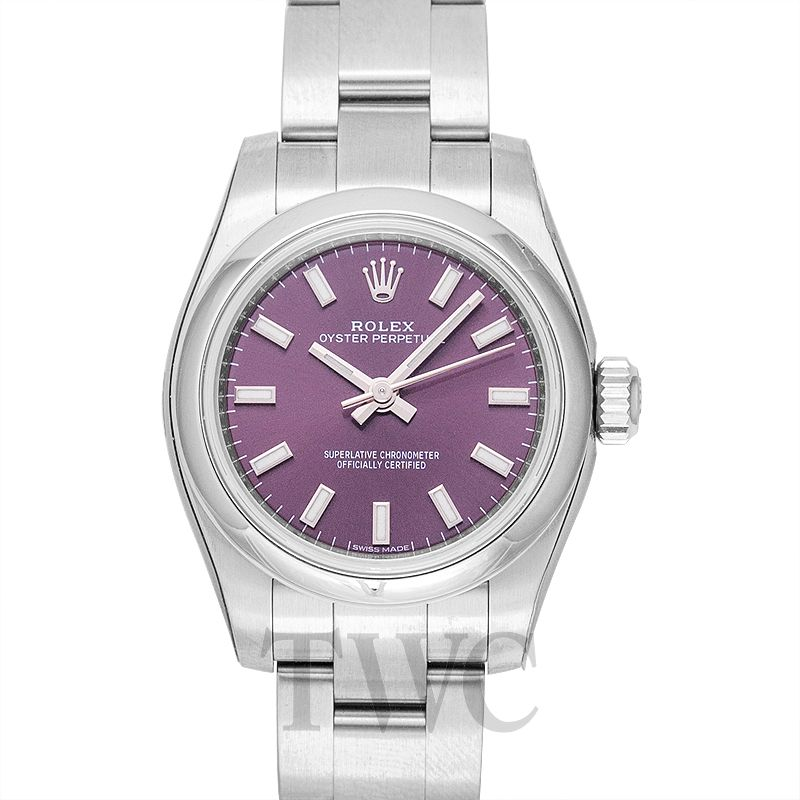 timeless design c1fe5 29c27 Oyster Perpetual 26 Purple Steel 26mm