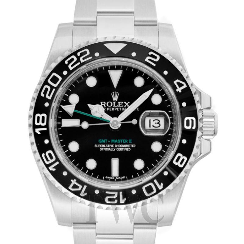new product b6bfd 00881 GMT-マスター II ブラック/スーチル Ø40mm