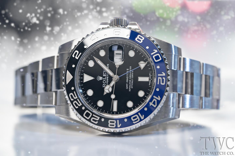 ロレックス GMTマスターII:時代を超えたパイロット向けの腕時計