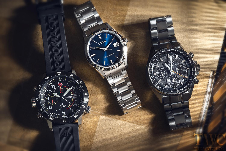 光と電波による高い精度 シチズン腕時計オススメ8選!