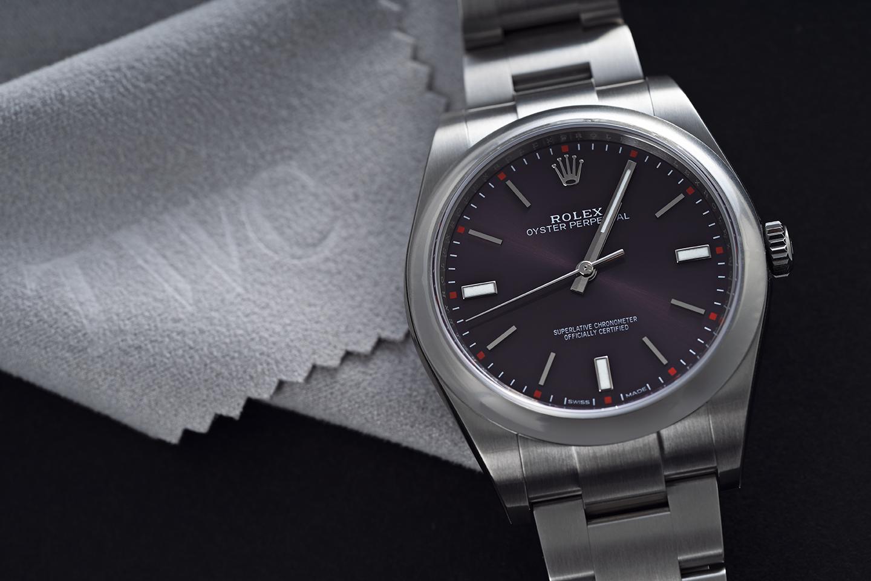 ロレックス パーペチュアル :値段を抑えた腕時計
