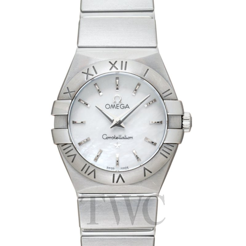 123.10.24.60.05.001 Omega Constellation Mother of Pearl Ladies Watch 24 mm