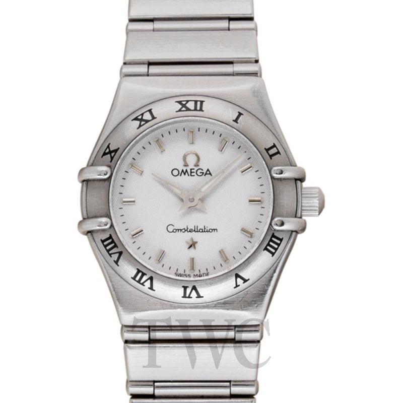 1562.30 OMEGA Constellation My Choice Quartz Mini WHITE