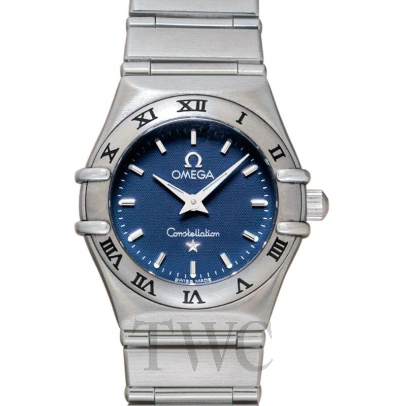 1562.40 OMEGA Constellation My Choice Quartz Mini Blue