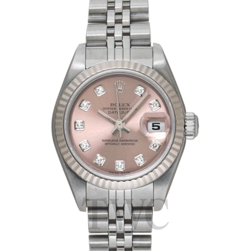 79174G Lady Oyster Perpetual Pink/Steel 26mm