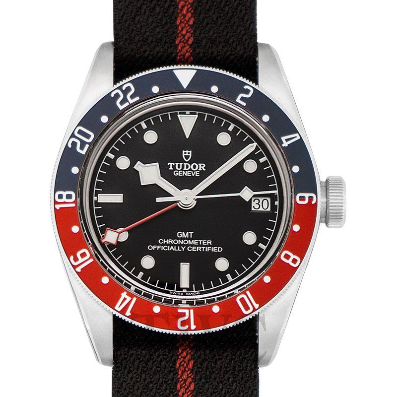 ブラックベイ GMT 79830RB [ブラック/レッドファブリックベルト ブラック] 製品画像