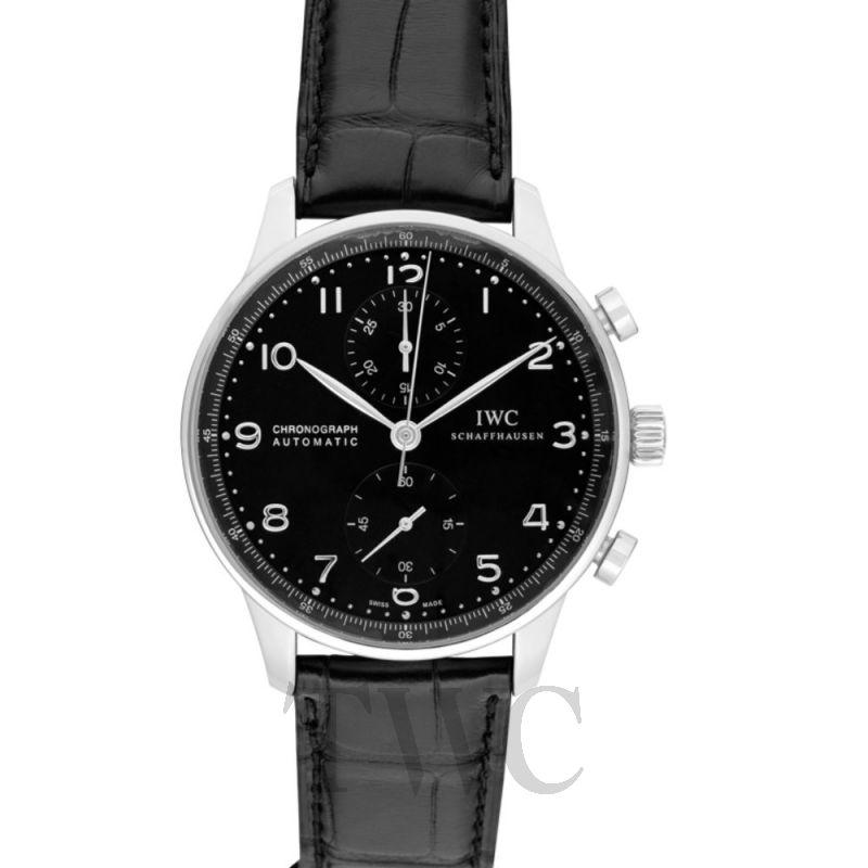 IW371447 ポルトギーゼ クロノグラフ ブラック/ブラック